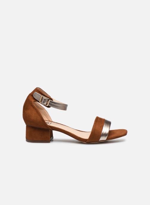 Sandalen I Love Shoes DIBELLO braun ansicht von hinten