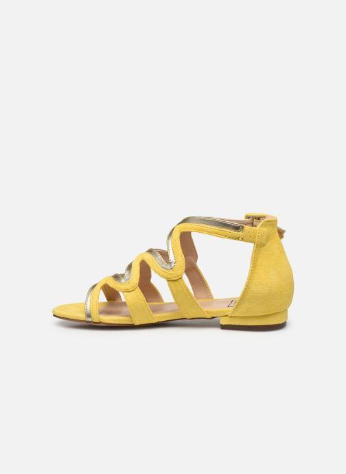 Sandalias I Love Shoes DILOTTO Amarillo vista de frente