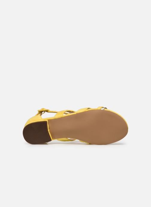 Sandalias I Love Shoes DILOTTO Amarillo vista de arriba