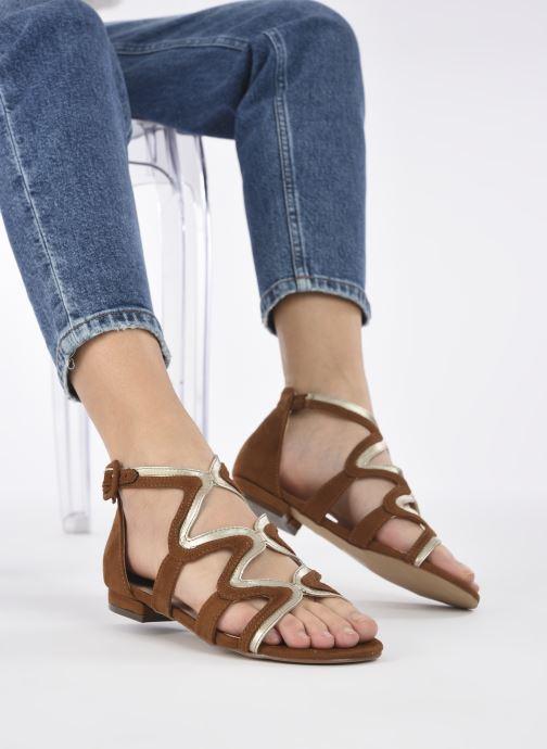 Sandali e scarpe aperte I Love Shoes DILOTTO Marrone immagine dal basso