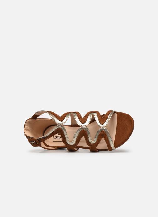 Sandali e scarpe aperte I Love Shoes DILOTTO Marrone immagine sinistra