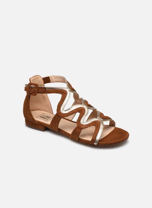 Sandalias I Love Shoes DILOTTO Marrón vista de detalle / par