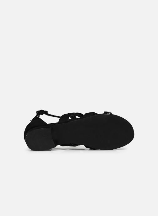 Sandalias I Love Shoes DILOTTO Negro vista de arriba