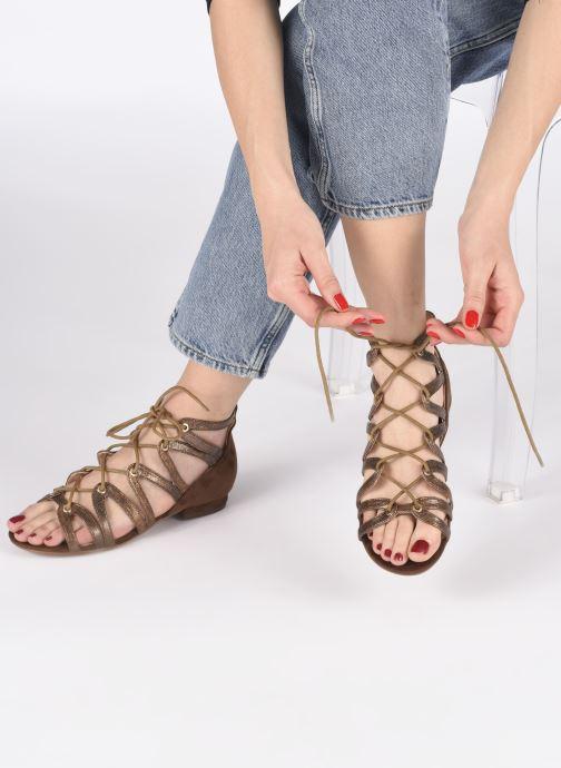 Sandalias I Love Shoes DICIAO Marrón vista de abajo