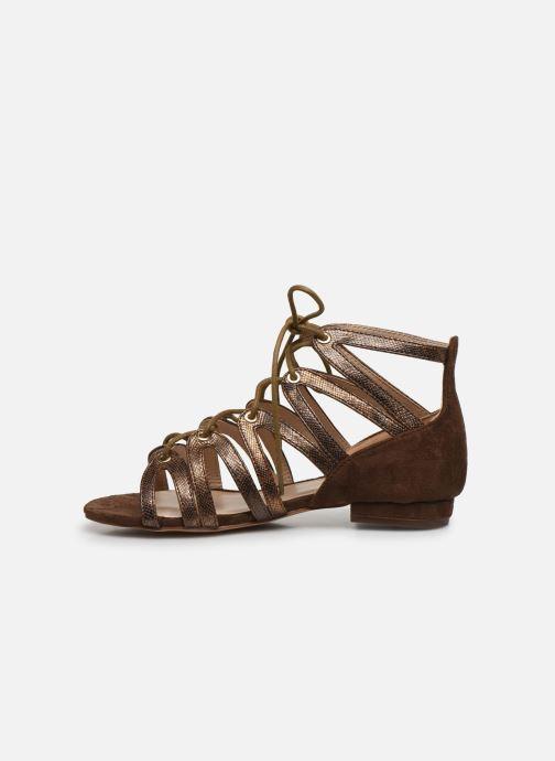 Sandalias I Love Shoes DICIAO Marrón vista de frente