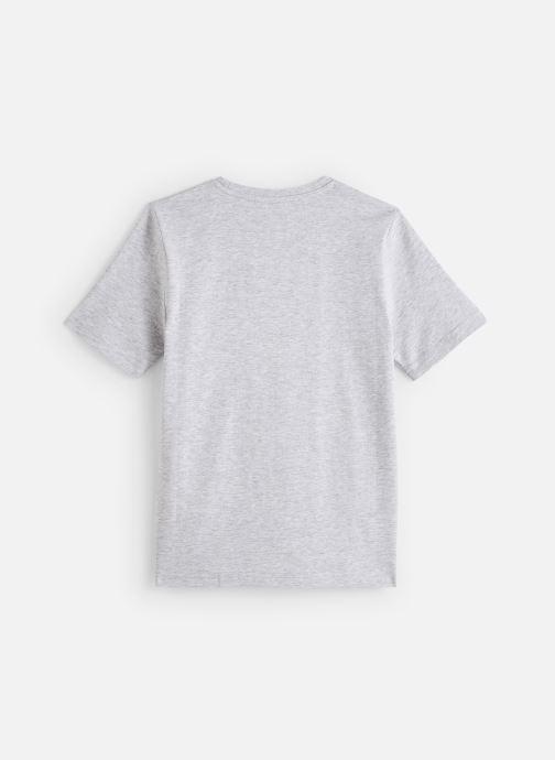 Vêtements BOSS T-shirt J25E64 Gris vue bas / vue portée sac