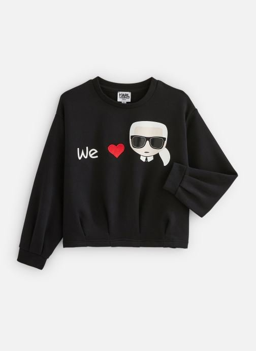 Vêtements Karl Lagerfeld Pull Z15235 Noir vue détail/paire