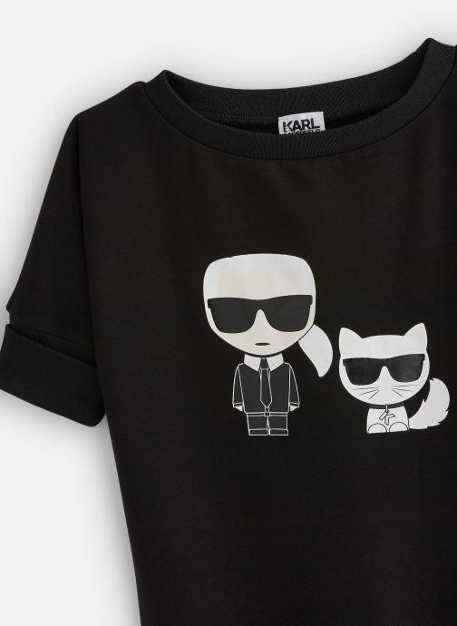 Vêtements Karl Lagerfeld Robe Z12141 Noir vue portées chaussures