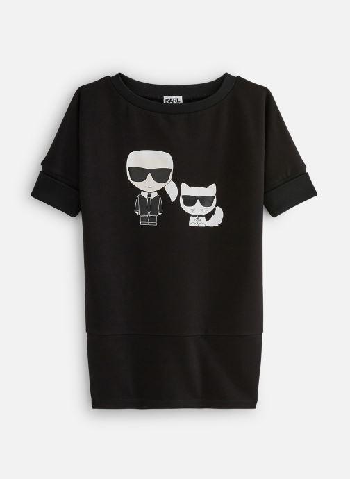 Vêtements Karl Lagerfeld Robe Z12141 Noir vue détail/paire