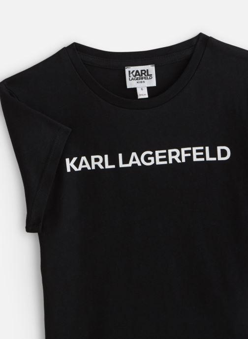 Vêtements Karl Lagerfeld Robe Z15222 Noir vue portées chaussures