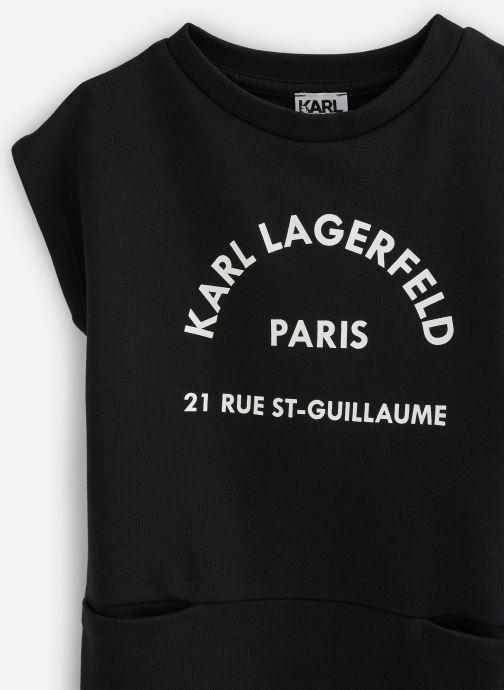 Vêtements Karl Lagerfeld Robe Z12134 Noir vue portées chaussures