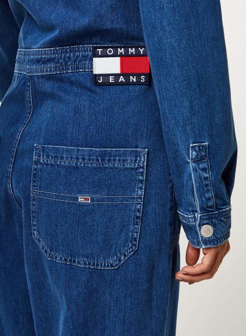 Vêtements Tommy Jeans TJW Regular Jumpsuit Mcmd Bleu vue face