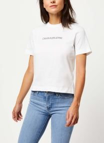 Shrunken Institutional Logo Tee