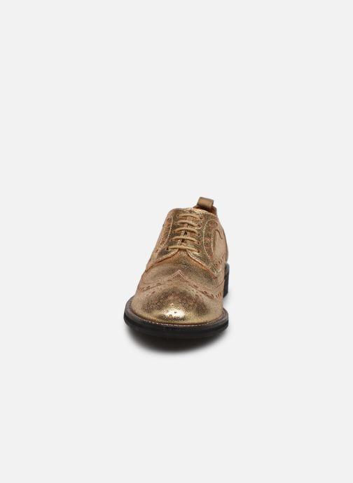 Chaussures à lacets Pepe jeans Hackney Met Or et bronze vue portées chaussures