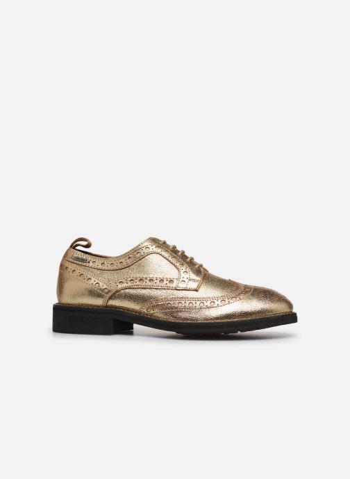 Chaussures à lacets Pepe jeans Hackney Met Or et bronze vue derrière