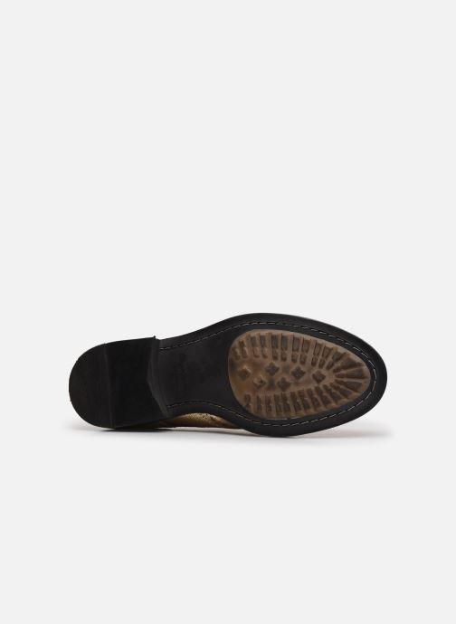 Chaussures à lacets Pepe jeans Hackney Met Or et bronze vue haut