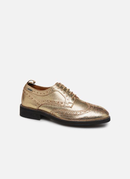 Chaussures à lacets Pepe jeans Hackney Met Or et bronze vue détail/paire
