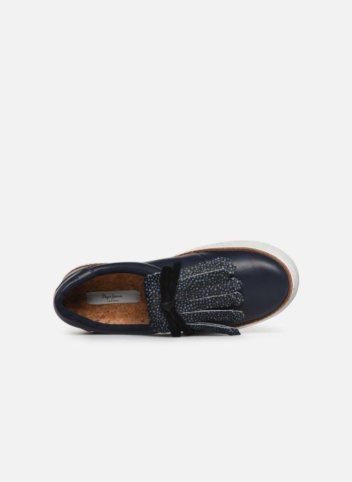 Sneakers Pepe jeans Adams Soul Blauw links