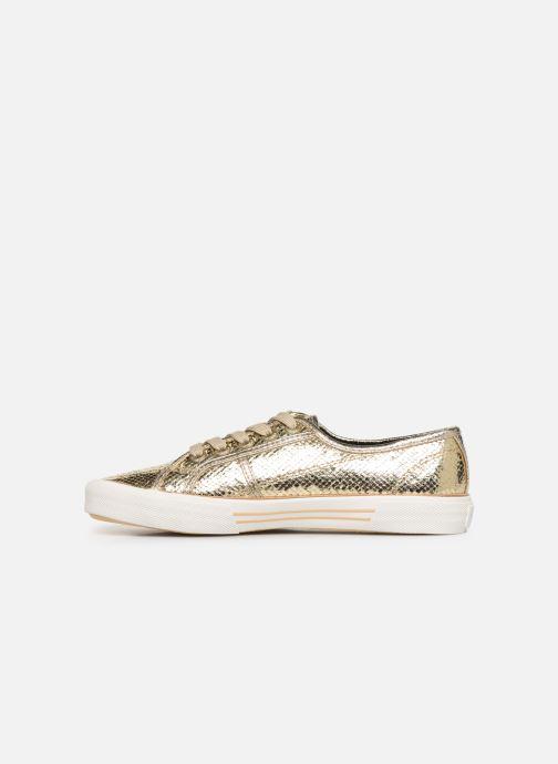 Sneakers Pepe jeans Aberlady Luxor Oro e bronzo immagine frontale
