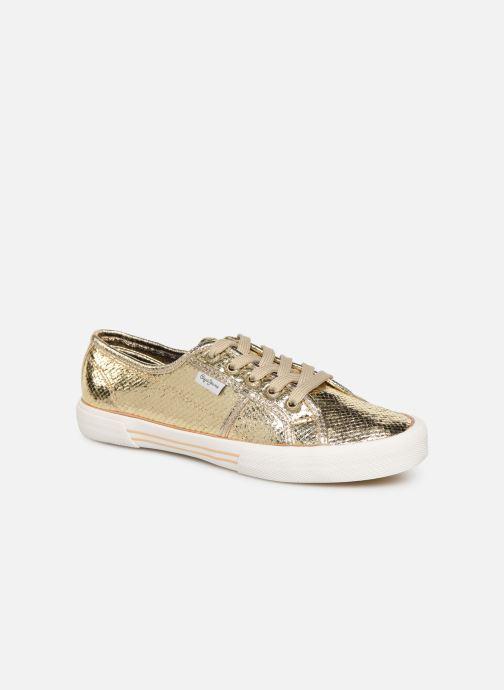 Baskets Pepe jeans Aberlady Luxor Or et bronze vue détail/paire