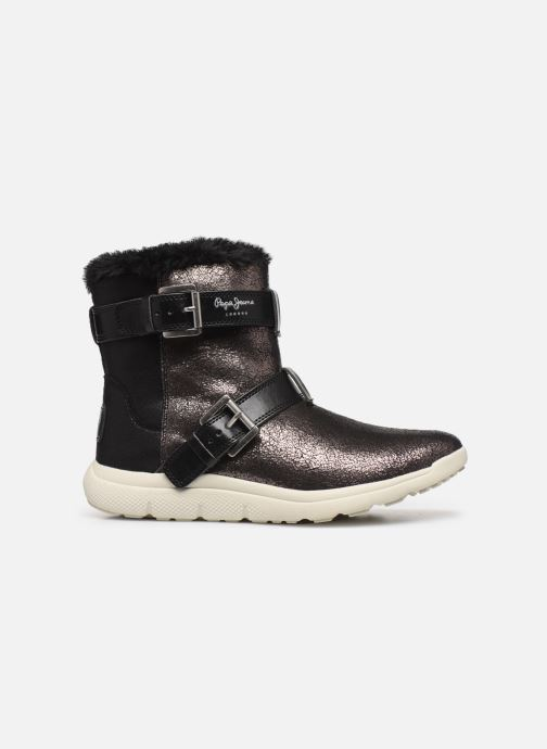 Sport shoes Pepe jeans Hyke W Snow Silver back view