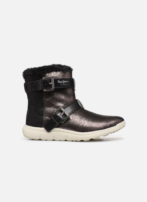 Chaussures de sport Pepe jeans Hyke W Snow Argent vue derrière