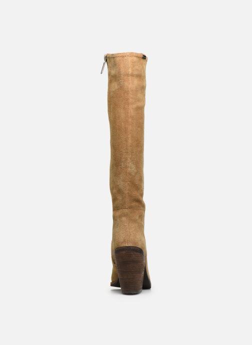 Botas Pepe jeans Duncan Cow Suede Marrón vista lateral derecha