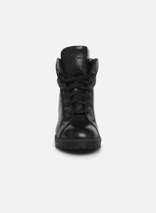 Bottines et boots Pepe jeans Hellen Laces Noir vue portées chaussures