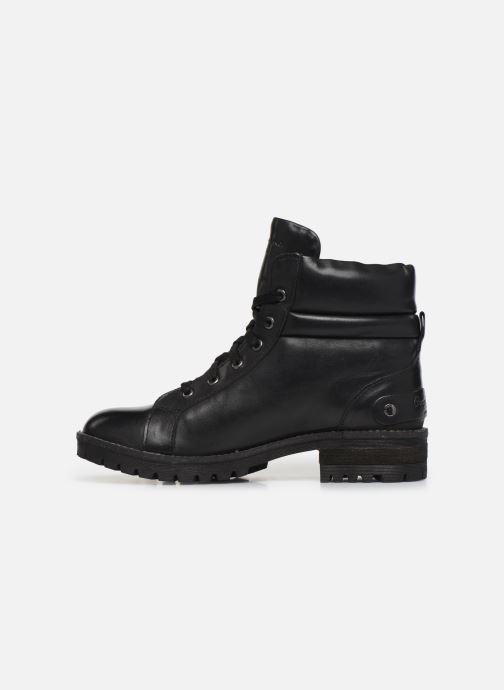Bottines et boots Pepe jeans Hellen Laces Noir vue face