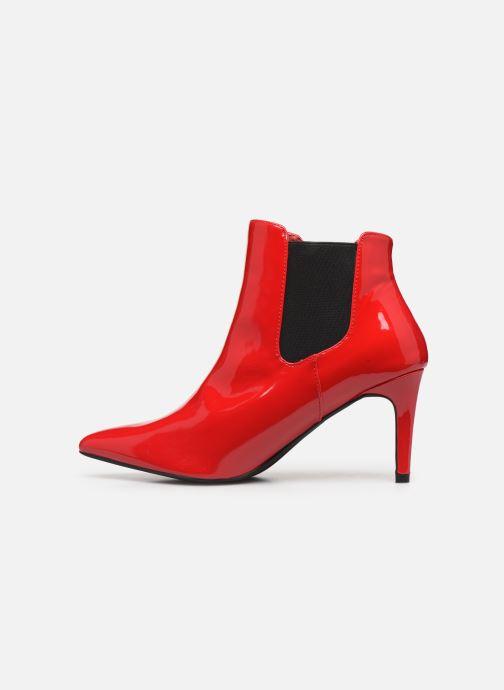Boots en enkellaarsjes Pepe jeans Wells Chelsea Rood voorkant