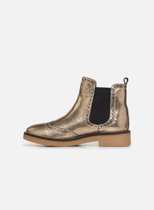 Bottines et boots Pepe jeans Savile Met Or et bronze vue face