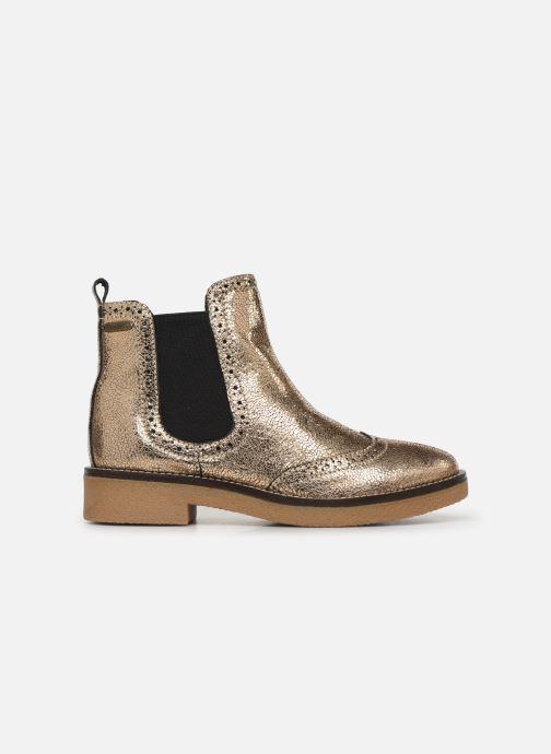Bottines et boots Pepe jeans Savile Met Or et bronze vue derrière