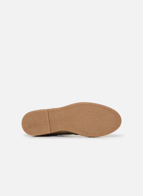 Bottines et boots Pepe jeans Savile Met Or et bronze vue haut