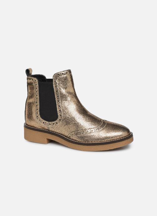 Bottines et boots Pepe jeans Savile Met Or et bronze vue détail/paire