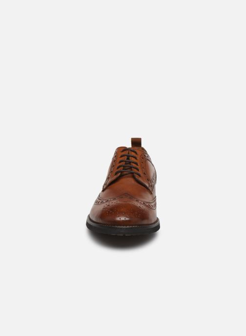 Chaussures à lacets Pepe jeans Hackney Brogue Marron vue portées chaussures