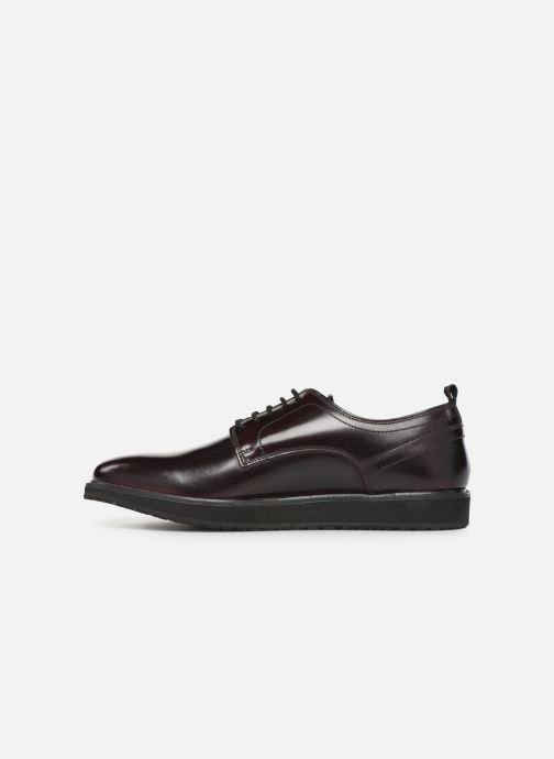 Chaussures à lacets Pepe jeans Derby Mod Bordeaux vue face