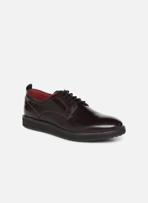 Chaussures à lacets Pepe jeans Derby Mod Bordeaux vue détail/paire