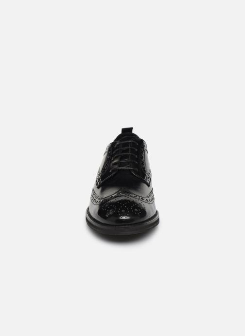 Chaussures à lacets Pepe jeans Hackney Brogue Smooth Noir vue portées chaussures