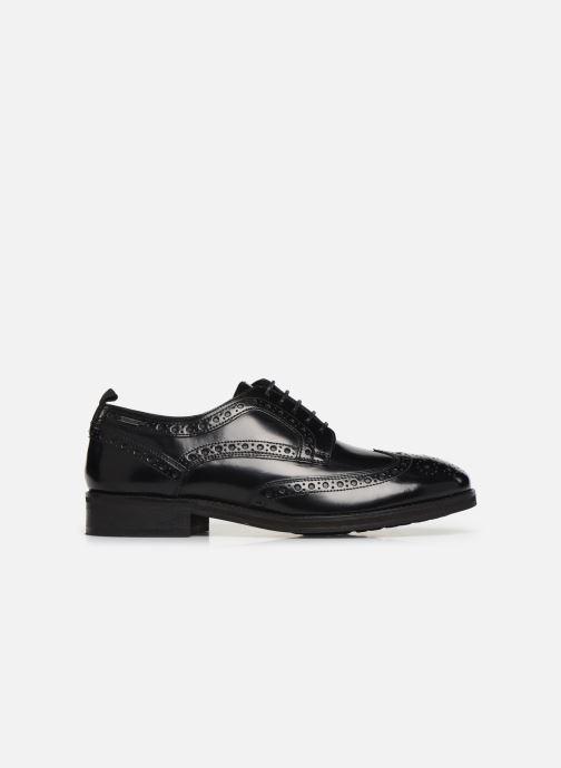 Chaussures à lacets Pepe jeans Hackney Brogue Smooth Noir vue derrière