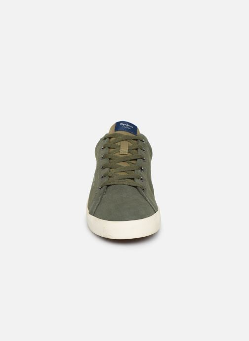 Baskets Pepe jeans North Basic Vert vue portées chaussures