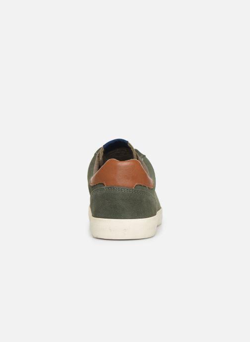 Baskets Pepe jeans North Basic Vert vue droite