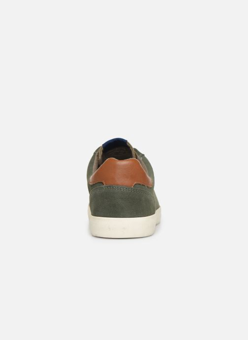 Baskets Pepe jeans North Basic Vert vue droite