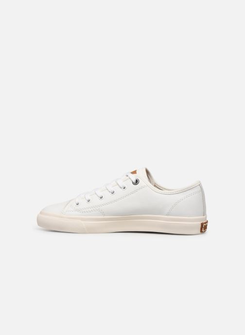 Sneakers Pepe jeans Premiere Lth Bianco immagine frontale