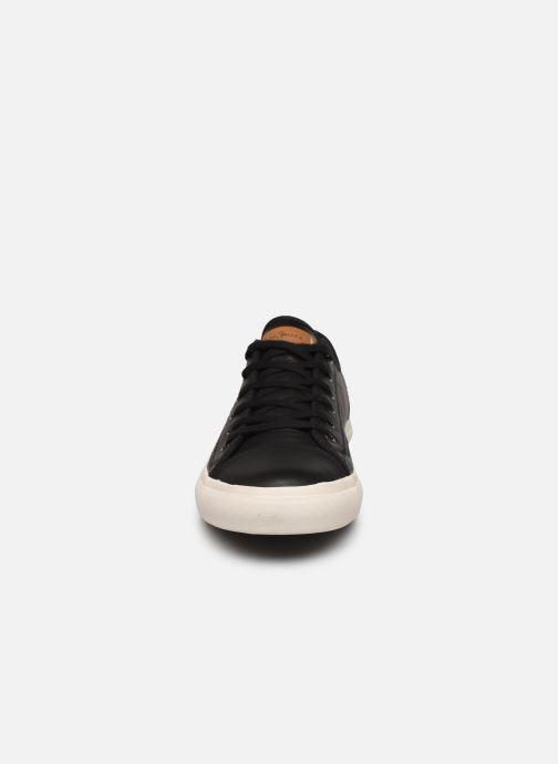 Baskets Pepe jeans Premiere Lth Noir vue portées chaussures