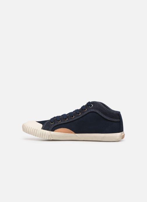 Baskets Pepe jeans Industry Soul Bleu vue face