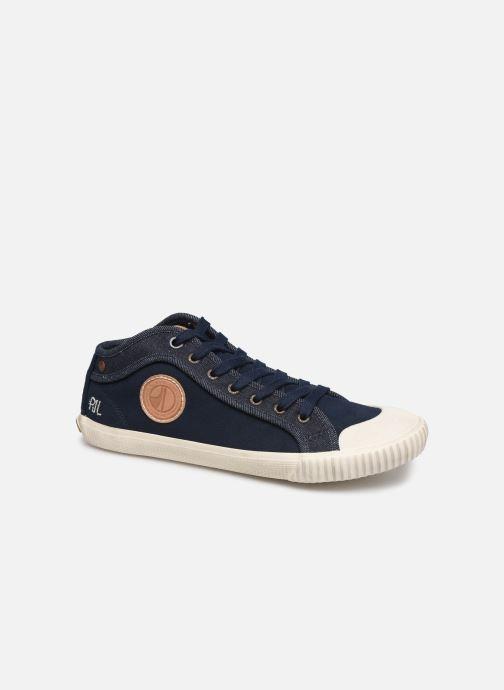 Baskets Pepe jeans Industry Soul Bleu vue détail/paire