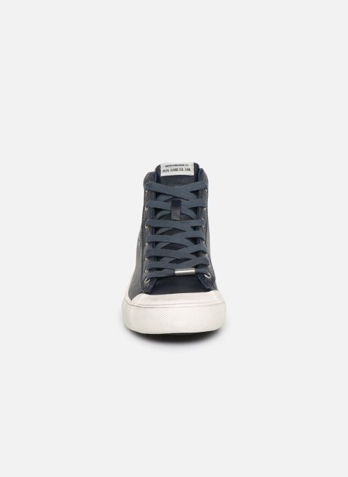 Baskets Pepe jeans New Brother Bleu vue portées chaussures