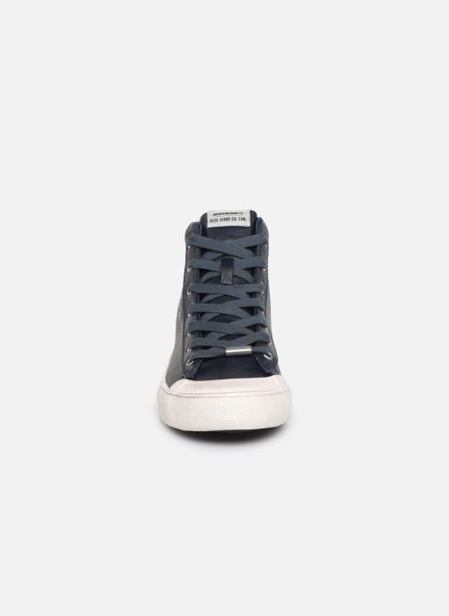 Sneakers Pepe jeans New Brother Azzurro modello indossato