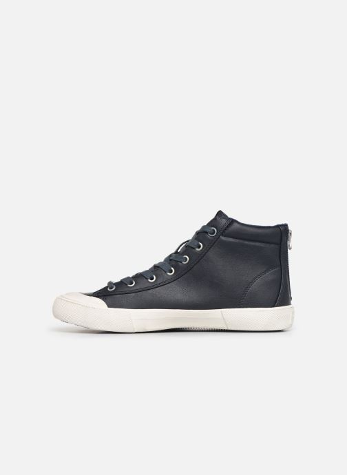 Baskets Pepe jeans New Brother Bleu vue face
