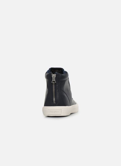 Baskets Pepe jeans New Brother Bleu vue droite